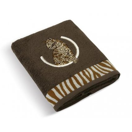 Froté ručník a osuška kolekce Leopard