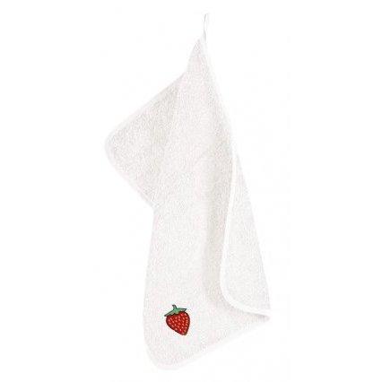 Froté ručník s výšivkou