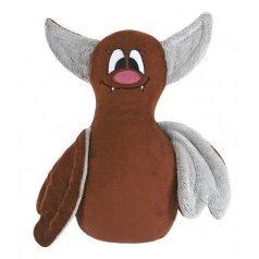 Tvarovaný polštářek netopýr hnědý