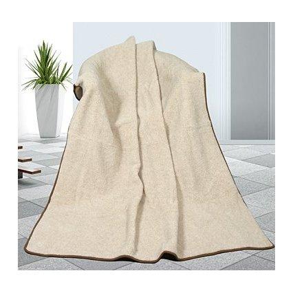 Evropské merino deka béžová 450g/m2