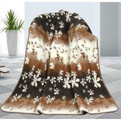 Evropské merino deka květy 450g/m2