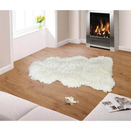 Evropské meríno koberec kožešina